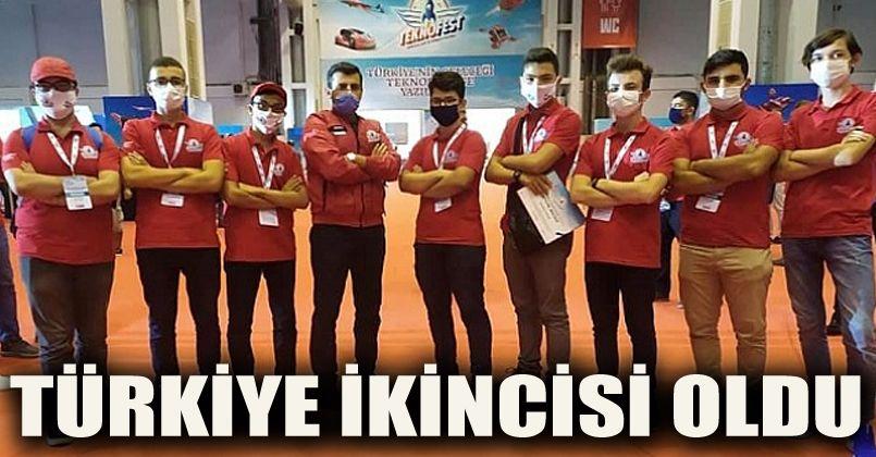 Mehmet Akif İnan Hafız Anadolu İmam Hatip Lisesi Türkiye 2.'si oldu.