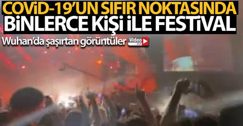 Covid-19'un sıfır noktasında binlerce kişi ile müzik festivali
