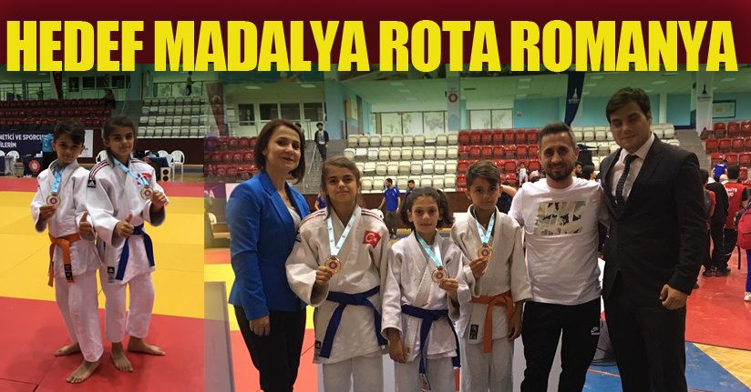 Judocularımız Romanya'da