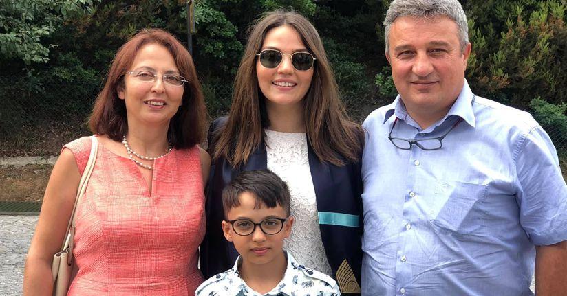 Metin Güçlü'nün kızı doktor oldu...