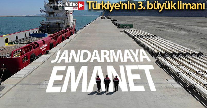 Türkiye'nin 3. büyük limanı Filyos'un güvenliği jandarmaya emanet