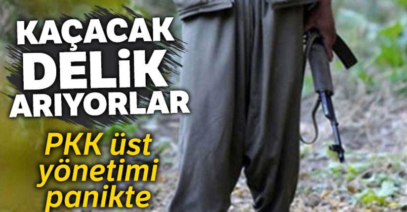 PKK üst yönetimi panikte