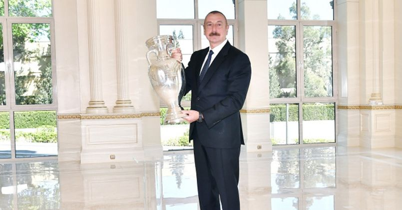 EURO 2020 kupası Azerbaycan'da