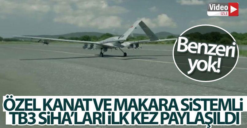 Bayraktar, TB3 Siha'ları ilk kez paylaştı