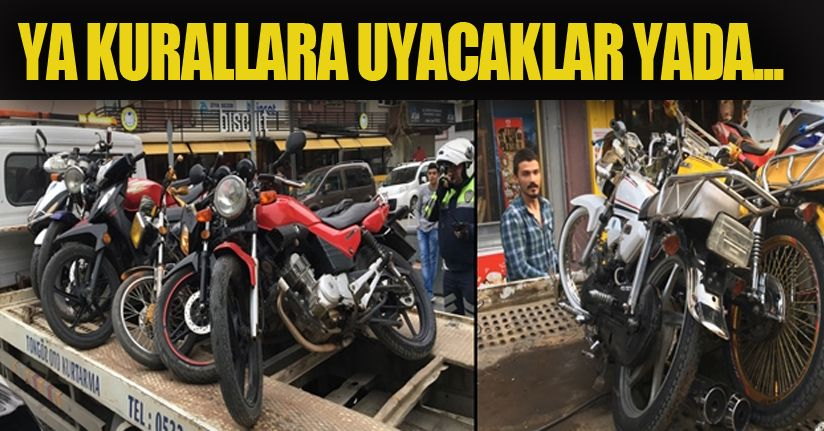 Valilikten motosiklet açıklaması
