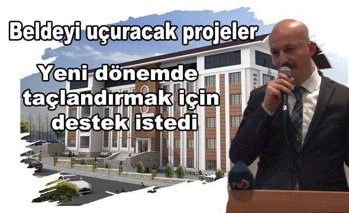 Ercan Projelerini Tanıttı