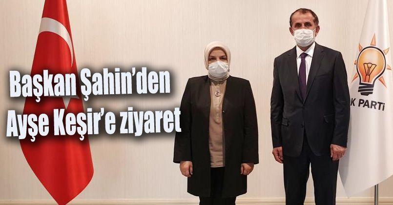 Başkan Şahin'den, Keşir'e ziyaret