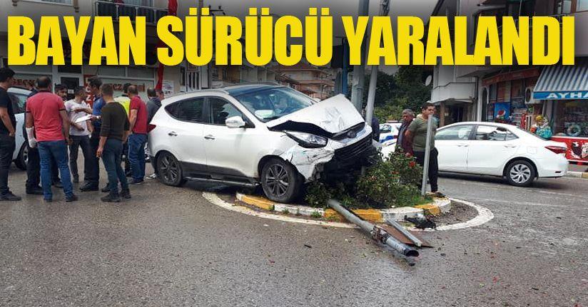 5 yolda kaza, 1 yaralı