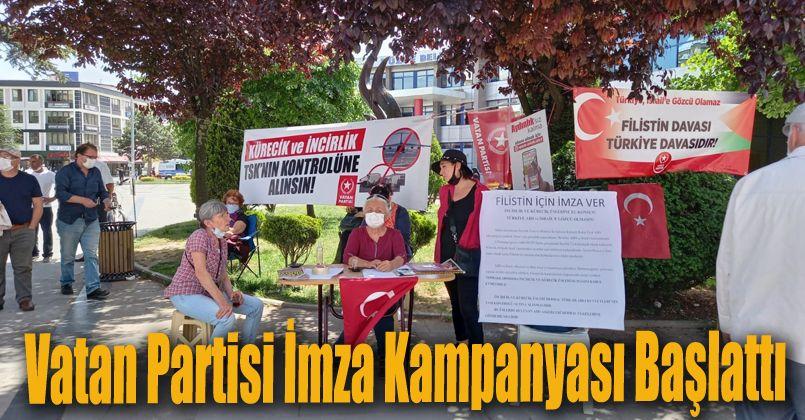 Vatan Partisi İmza Kampanyası Başlattı