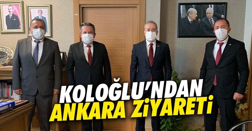 Koloğlu'ndan ve Caboğlu'ndan Ankara ziyareti