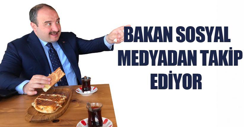 Bakan Varank Tost yemeye Düzce'ye geldi