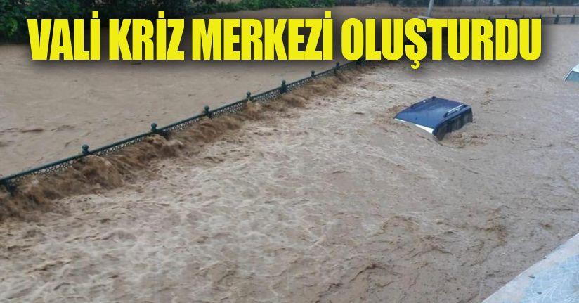Düzce'de aşırı yağışlar Cumayeri ve Akçakoca ilçelerini vurdu