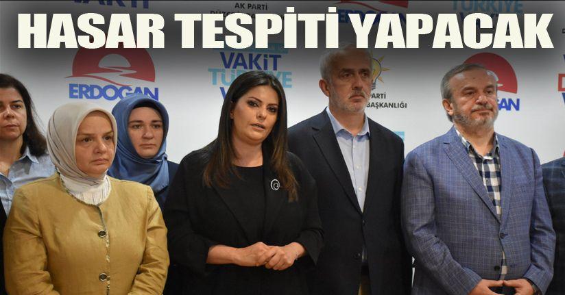 AK Parti Genel Başkan Yardımcısı Düzce'de