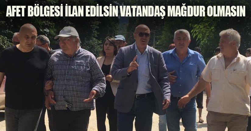 CHP Milletvekili Mahmut Tanal'dan Düzce Talebi