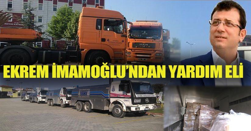 İstanbul Büyükşehir Felaket Bölgesinde
