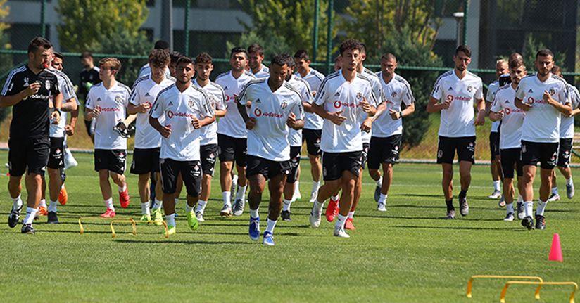 Beşiktaş, Riva'daki son antrenmanını yaptı