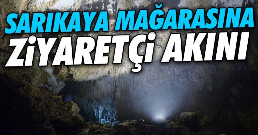 Karadeniz'in en uzun mağarası dikkat çekiyor