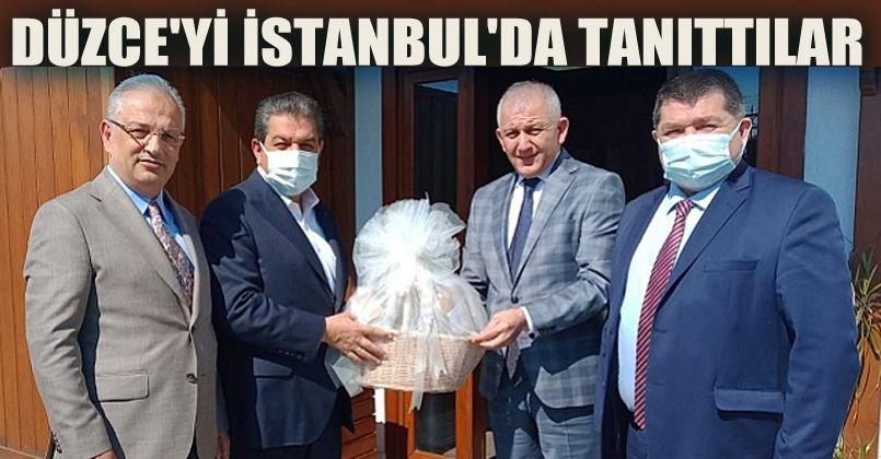 Düzce'yi İstanbul'da Tanıttılar