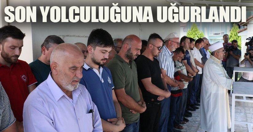 Selden 4 gün sonra bulunan Cengiz Töngel toprağa verildi