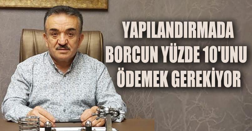 DESOB Başkanı Mustafa Kayıkçı'dan Esnafa Uyarı
