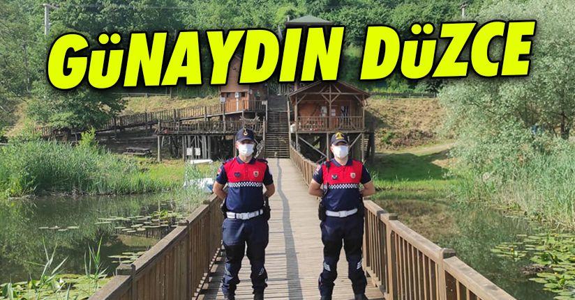 Jandarma ekipleri Efteni gölünde nöbette