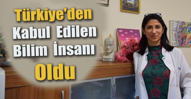 Türkiye'den kabul edilen bilim insanı oldu