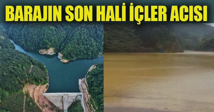 Sarıyayla barajı çamur barajı oldu…