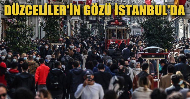 Düzcelilerin Gözü İstanbul'da