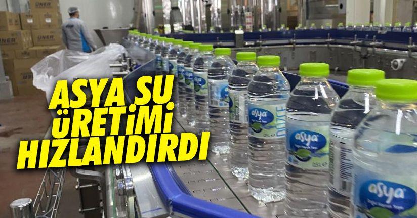 Asya Su'da üretim hızlandı
