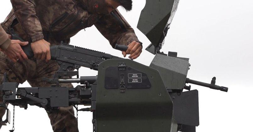 Yerli ve milli olarak üretilen SAR-762-MT ve SAR-56 ilk kez görücüye çıktı