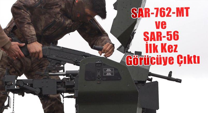 SAR-762-MT ve SAR-56 İlk Kez Görücüye Çıktı