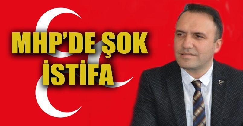 MHP'li Mustafa Özensel İstifa Etti