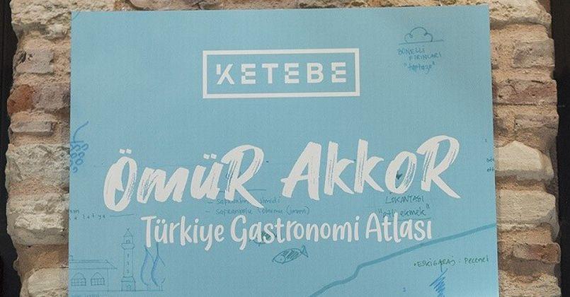 'Türkiye Gastronomi Atlası' ilk günde 5 bin adet satıldı