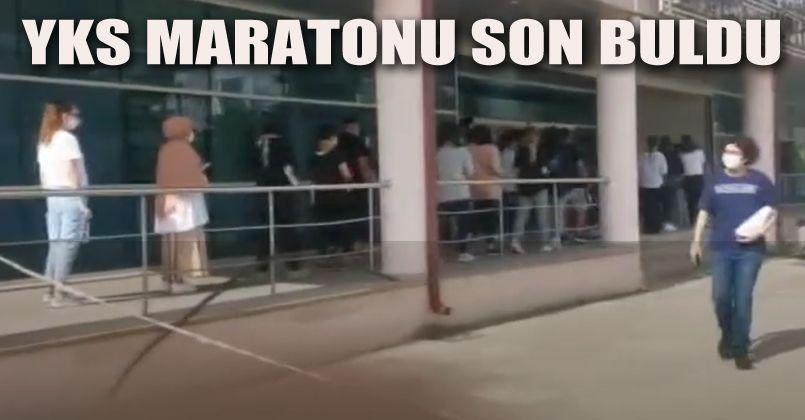 YKS Maratonu Son Buldu