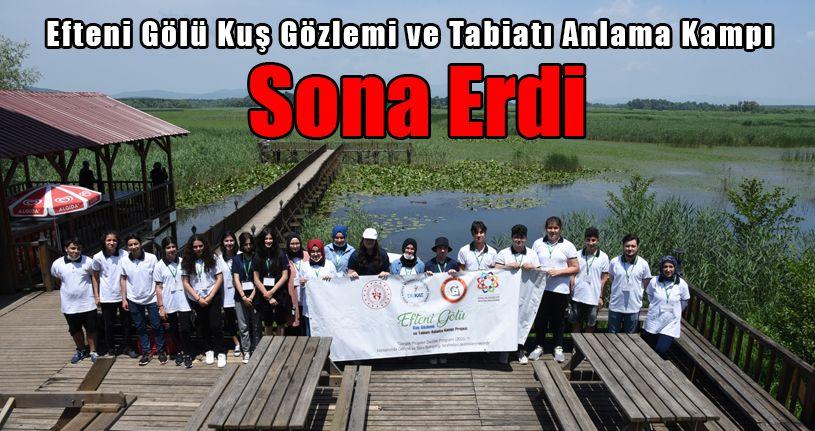 Efteni Gölü Kuş Gözlemi ve Tabiatı Anlama Kampı