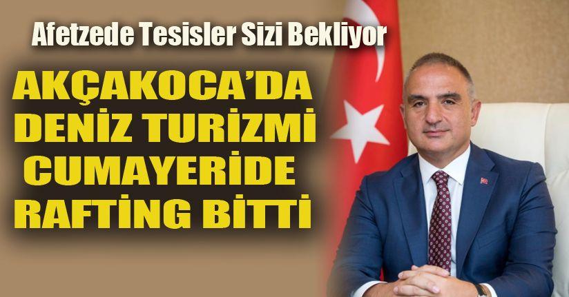 Turizm Bakanı Mehmet Nuri Ersoy nerede?
