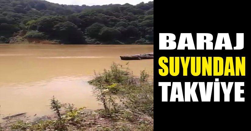 Akçakoca'ya Sarıyayla Nazmi Çiloğlu Barajından su temini yapılıyor