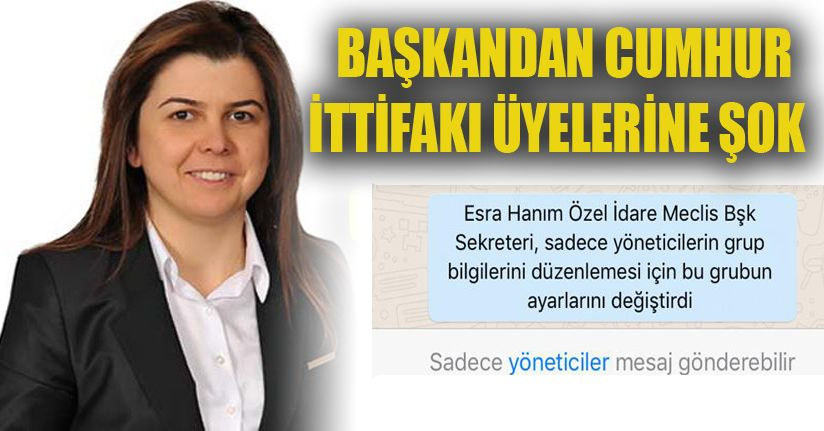MHP'li Meclis Üyelerine Söz Hakkı Yok