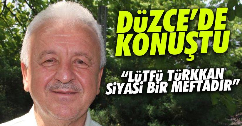 20. Dönem Milletvekili Aydın: 'Lütfü Türkkan, siyasi mevtadır'