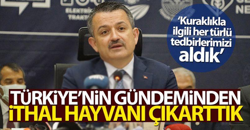 Türkiye'nin gündeminden ithal hayvanı çıkarttık