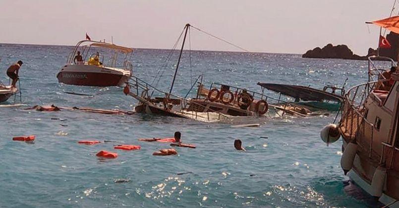 Tekne kazasında yaralanan 2 yaşındaki Yunus kurtarılamadı