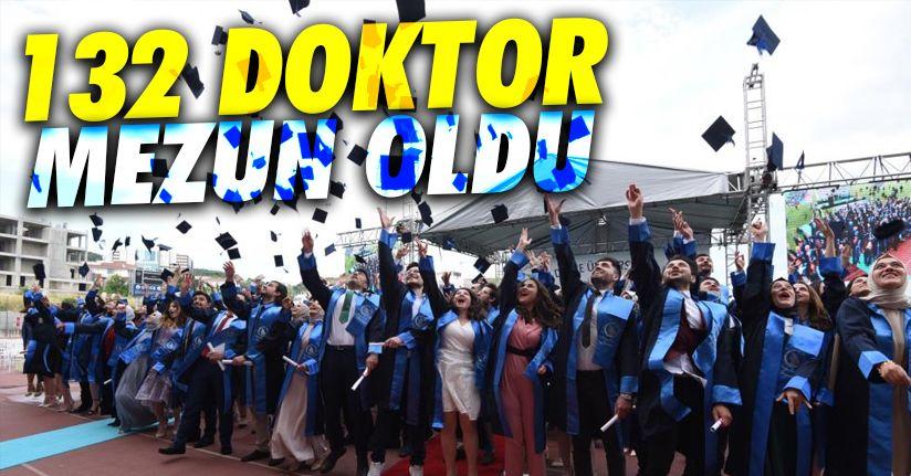 Mesleğin yeni doktorları mezun oldu