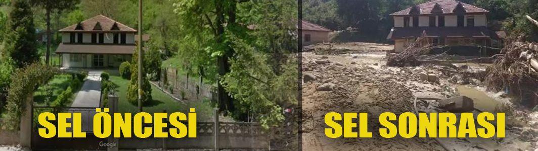 Felaketin öncesi ve sonrası ile Esmahanım Köyü