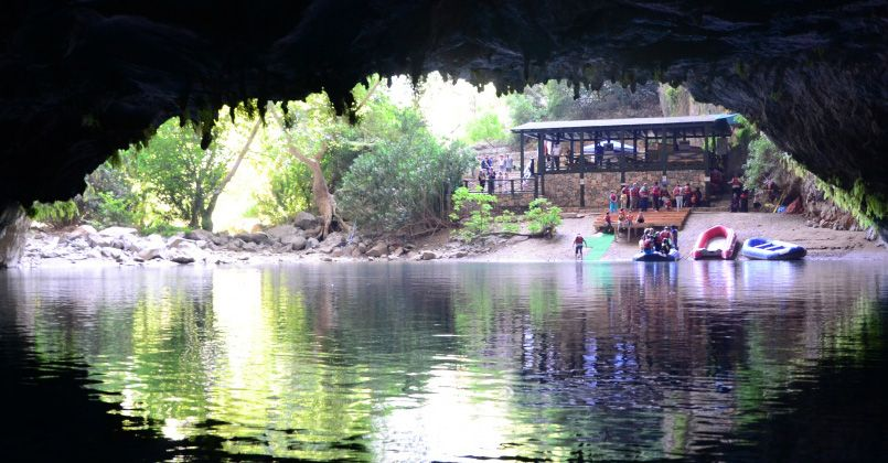 Türkiye'nin ise en uzun yeraltı gölü mağarası yeniden ziyaretçileri ile buluştu
