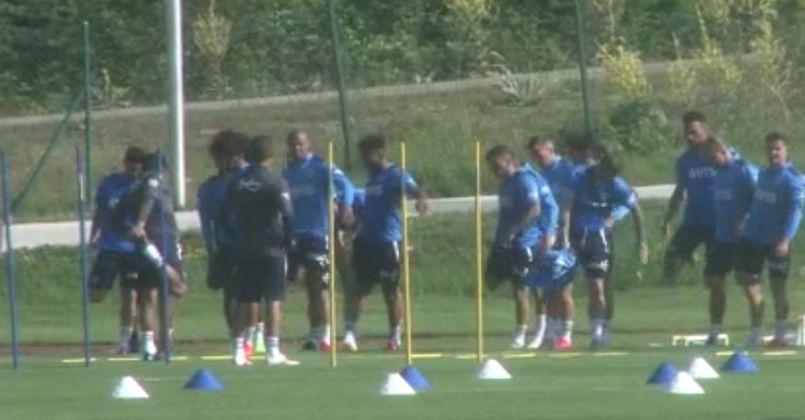 Fenerbahçe, yeni sezon hazırlıklarına Topuk Yaylası'nda devam ediyor