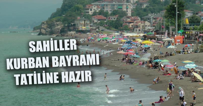 Batı Karadeniz sahilleri Kurban Bayramı tatiline hazır