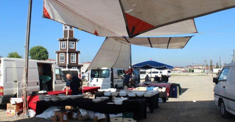 Düzcespor Ucuzluk Pazarı Açıldı