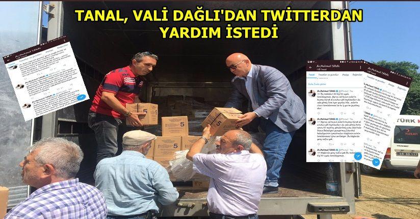Mahmut Tanal sosyal medyadan da Düzce'nin sorunlarını aktardı