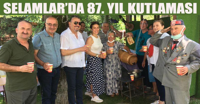 Atatürk'ün Selamlara Gelişinin 87.Yılı Kutlanıyor