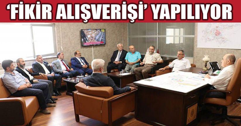 Siyasi Parti Başkanları ile istişare toplantısı